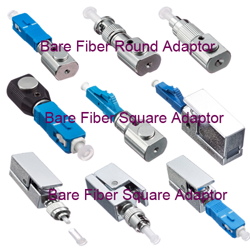 Fiber Optic connector Bare Fiber Adapter