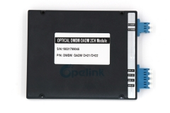2CH LC/UPC Dual Fiber DWDM OADM Plug-in Module, C21-C22, East and West