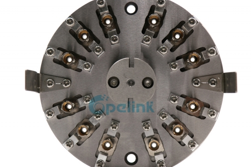 ST / PC Fiber optic Polishing Jig,Customized Fiber optic connector Polishing Fixture used in central polishing machine